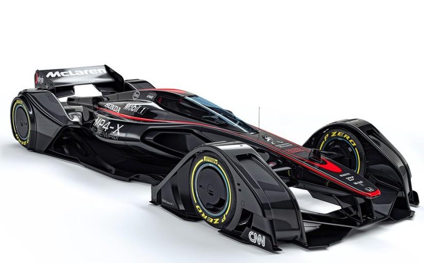 McLaren MP4-X, el concept car de la Fórmula 1