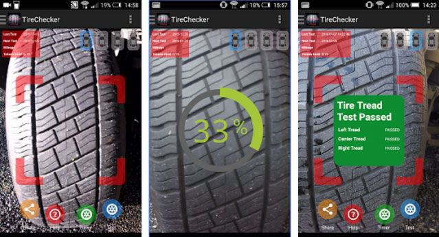 Car Tire Checker, la app para controlar el estado de los neumáticos