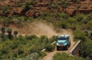 El holandés De Rooy y su Iveco, flamantes vencedores en Camiones