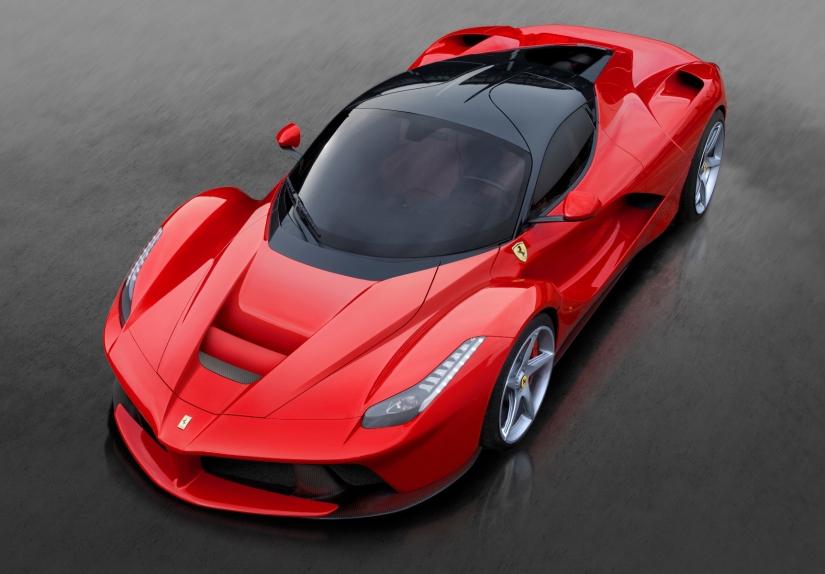 """Ferrari LaFerrari, uno de los """"juguetes"""" de Sebastian Vettel"""