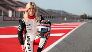 María de Villota, fallecida a causa de un accidente con Marussia