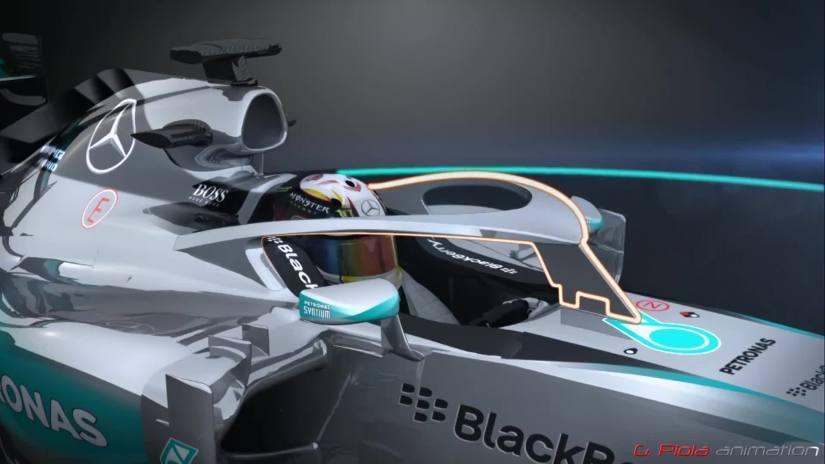 HALO, el proyecto de cockpit cerrado de Mercedes