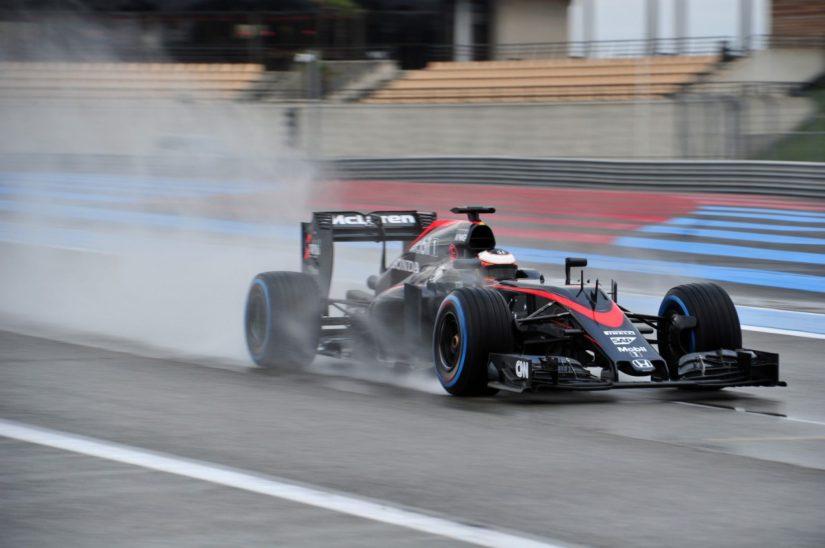 Stoffel Vandoorne a bordo del McLaren MP4-30