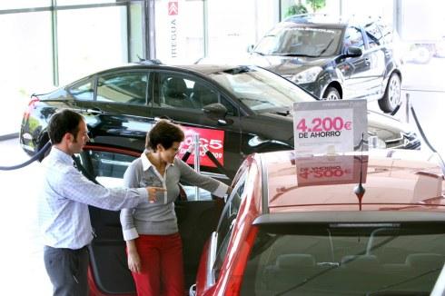 Las ventas de coches en España superan el millón de unidades en 2015