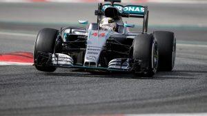Lewis Hamilton, segundo tras una jornada maratoniana