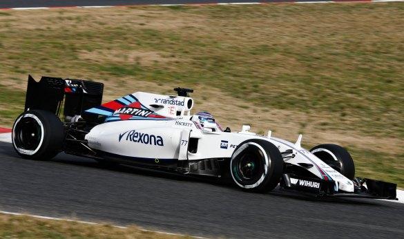 Valtteri Bottas y Williams, en forma