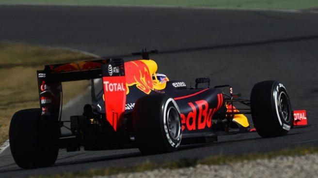 Daniel Ricciardo, excelente hoy en Barcelona