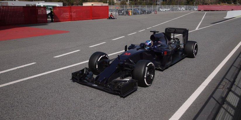 Decepción para el Toro Rosso de Max Verstappen