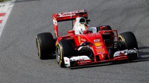 Sebastian Vettel rompe la banca en Barcelona