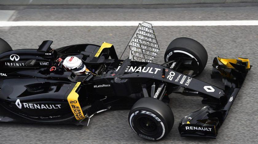 Importante mejoría de Renault, hoy con Kevin Magnussen