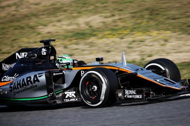 Nico Hulkenberg dio la sorpresa el tercer día de tests