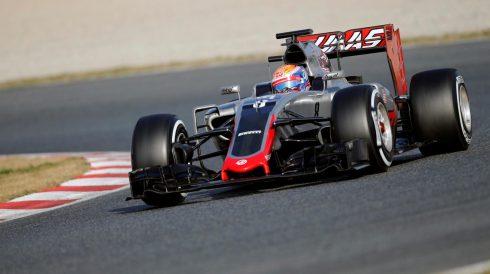 Sorprendente segundo tiempo logrado por Grosjean y Haas