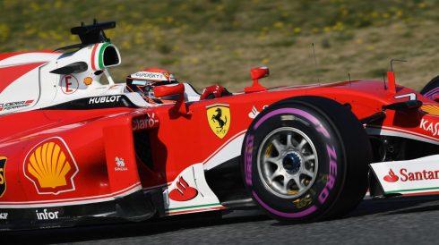 Kimi Raikkônen y Ferrari, nuevamente los más rápidos