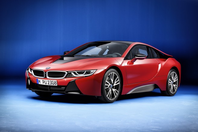 BMW i8 Protonic Red Edition, creado para enamorar
