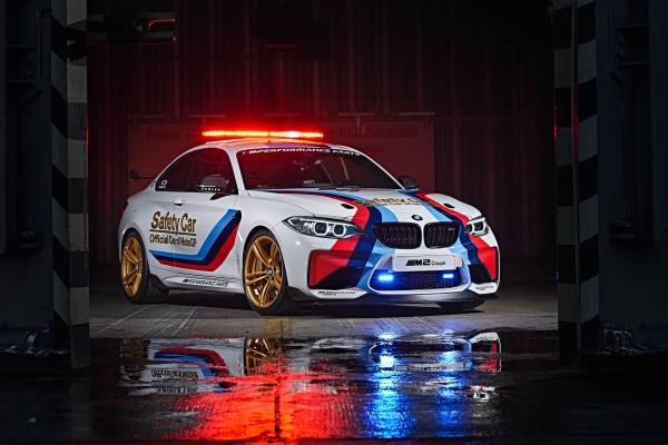 BMW M2 Safety Car, el espectacular coche de seguridad de MotoGP de 2016