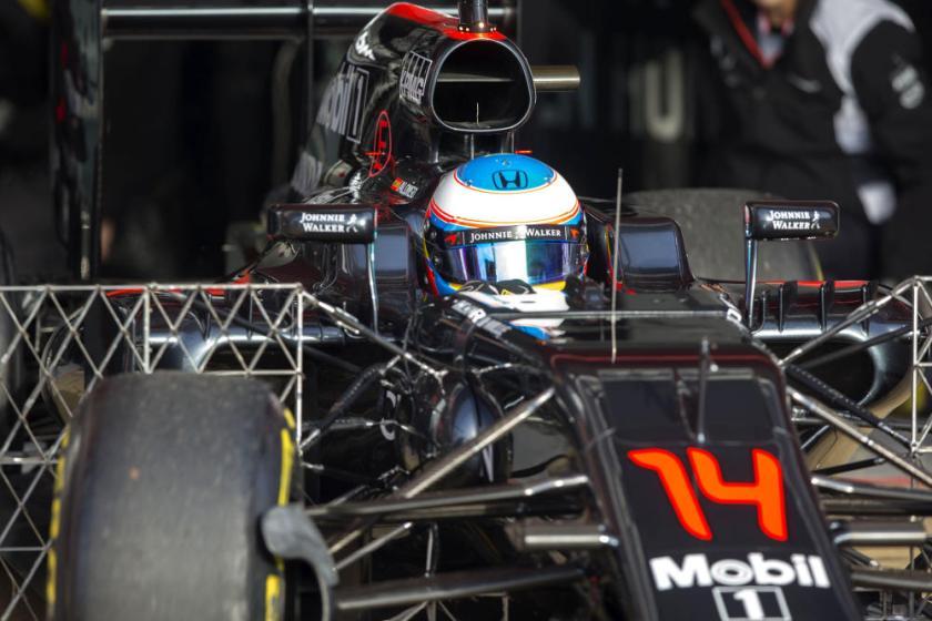 Fernando Alonso, confiado en McLaren a pesar del fiasco de los tests en Barcelona