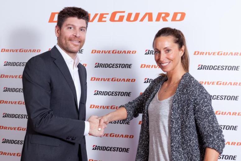 Gemma Mengual, nueva embajadora del Bridgestone DriveGuard