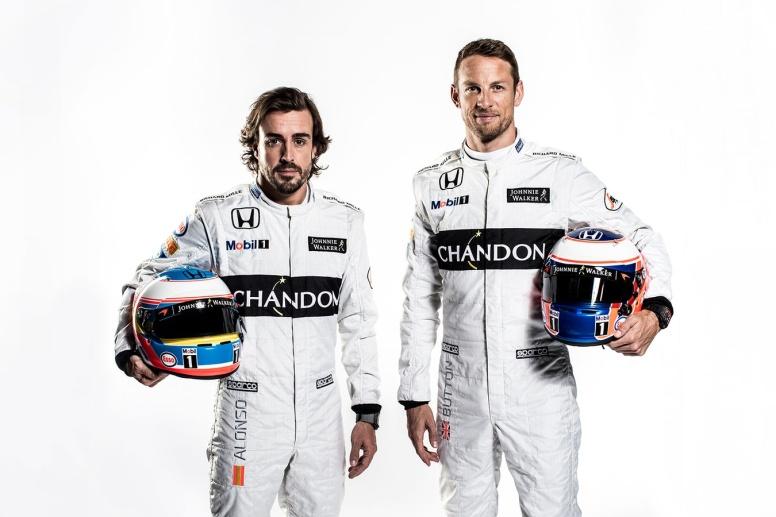 Alonso y Button, esperanzados con el nuevo MP4-31