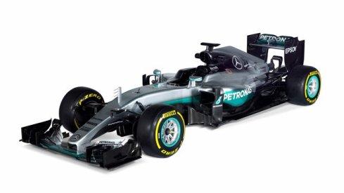 El nuevo Mercedes W07, en línea con el del año pasado