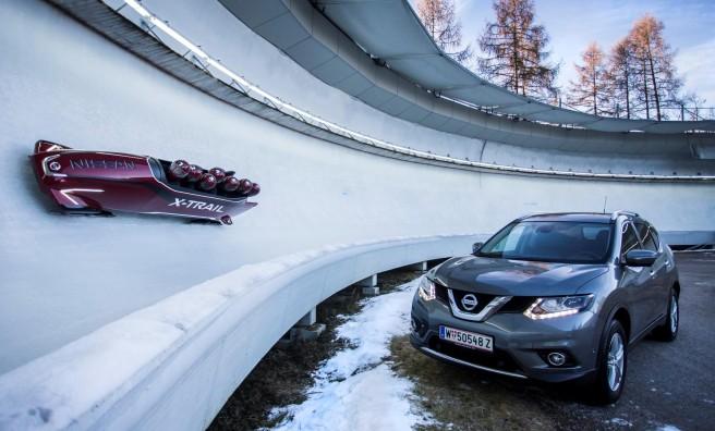 Nissan lanza un revolucionario bobsleigh inspirado en el X-Trail
