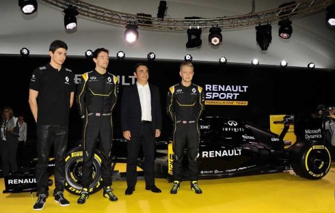Renault presentó su nuevo equipo de Fórmula 1