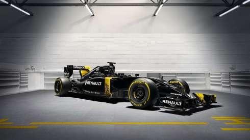 Detalle de nuevo Renault RS16