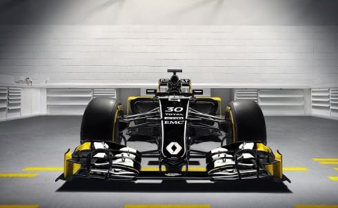 Espectacular imagen frontal del nuevo RS16