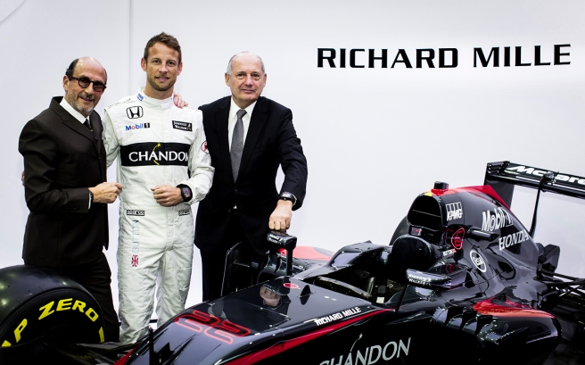 La relojera suiza Richard Mille, nuevo sponsor de McLaren