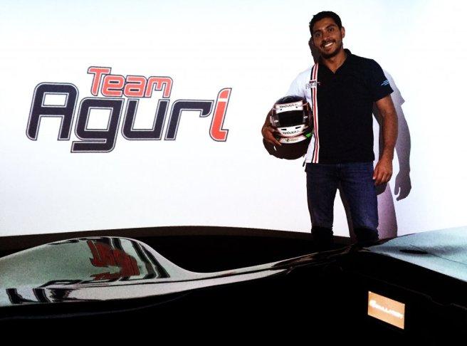 Salvador Durán, de vuelta al equipo Aguri de Fórmula E