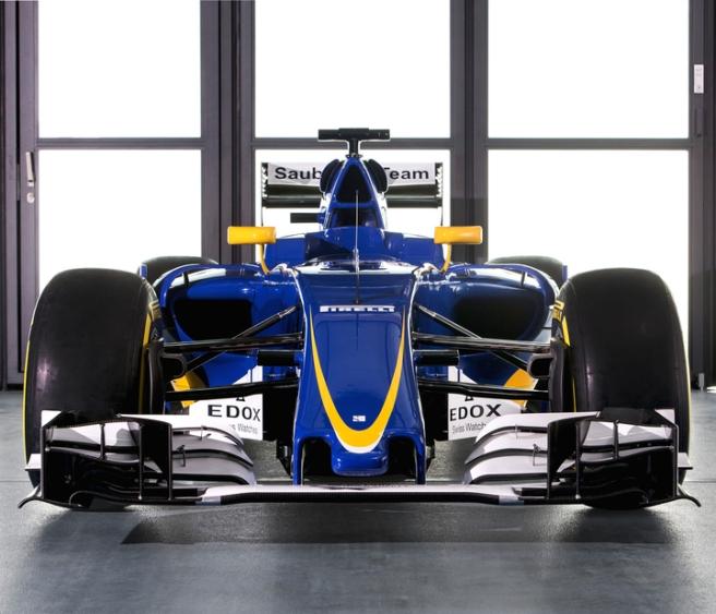 Apenas unas ligeras modificaciones aerodinámicas en el Sauber C35