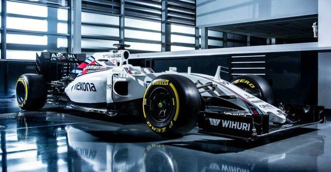 Nuevo Williams FW38, máxima continuidad con el pasado