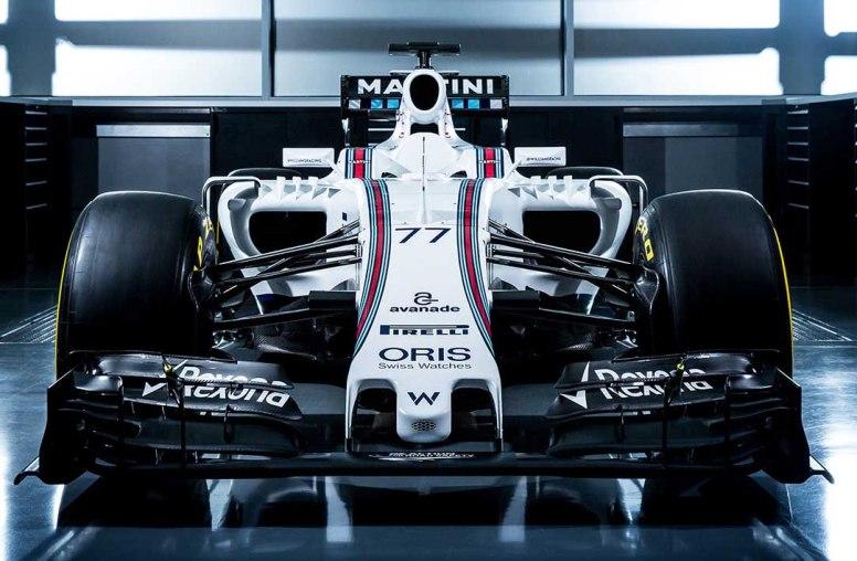 Frontal del nuevo Williams FW38