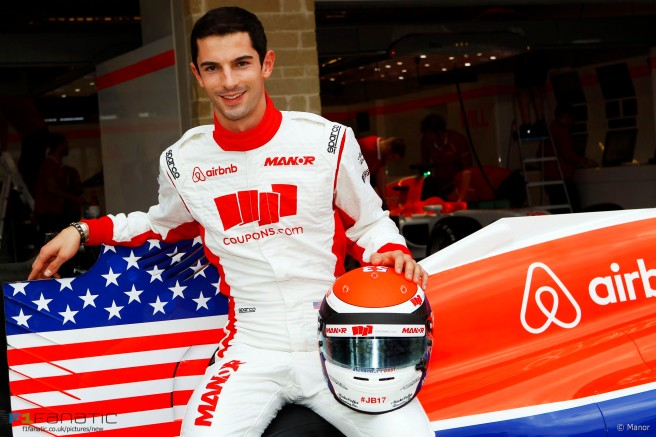 Alexander Rossi vuelve a Manor como piloto reserva