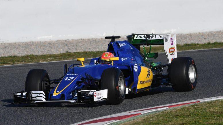 Buen debut del nuevo Sauber C35 hoy en Barcelona