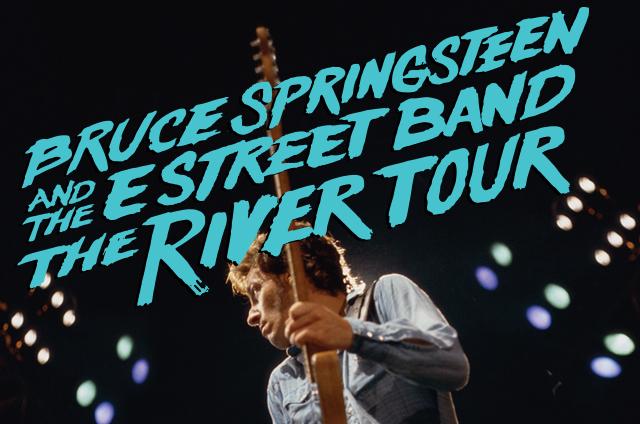Cartel anunciador de la última gira de Bruce Springsteen