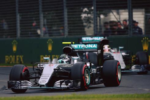 Nico Rosberg, brillante vencedor en Albert Park