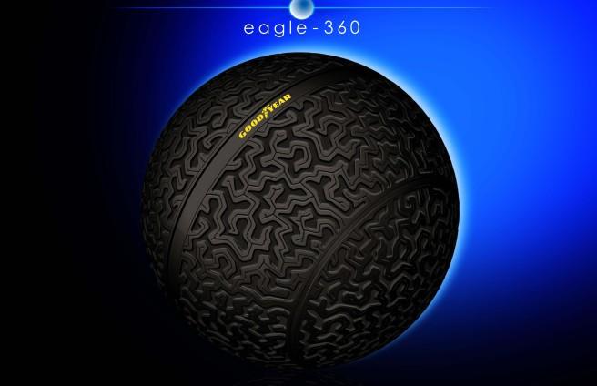 El nuevo Goodyear Eagle-360 promete revolucionar el mundo de los neumáticos