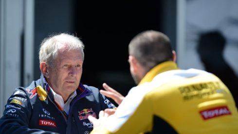 Helmut Marko confiesa que Red Bull barajó fabricar su propio motor