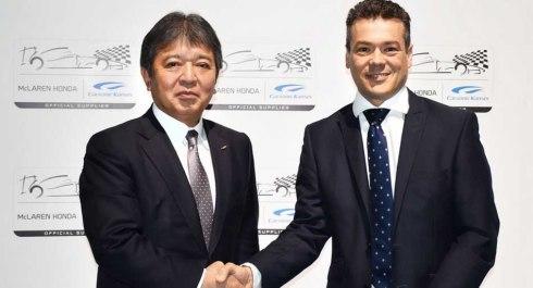 McLaren firma con la japonesa Calsonic Kansei