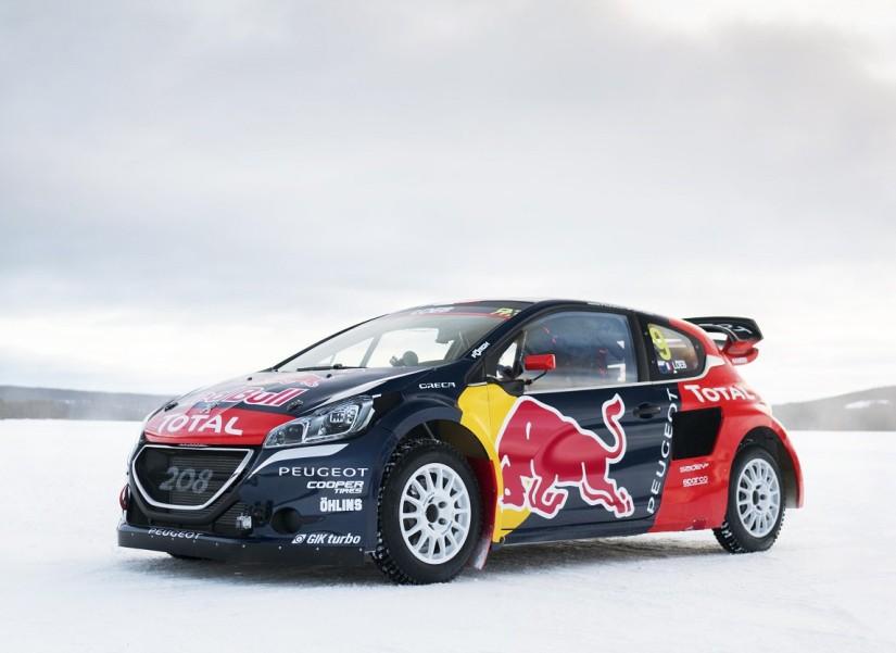 El Peugeot 208 WRX de Sébastien Loeb para su debut en el Mundial de Rallycross
