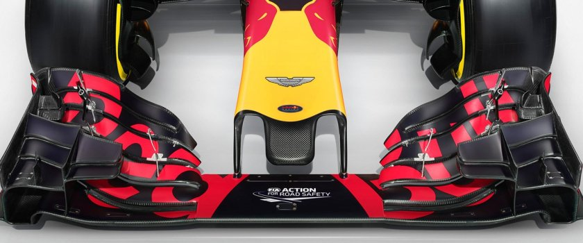 Los Red Bull RB12 llevarán el logo de Aston Martin