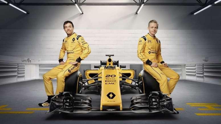 El equipo Renault F1 vuelve al amarillo
