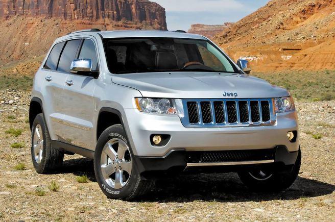 El Jeep Grand Cherokee, uno de los modelos llamados a revisión extraordinaria