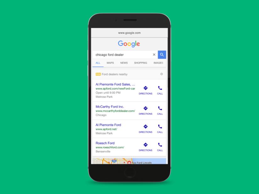 google-Dealer Automotive Ads