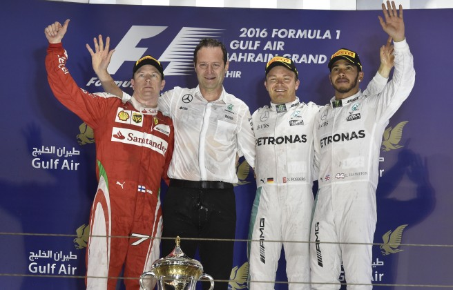 Lewis Hamilton, sancionado con cinco puestos en China
