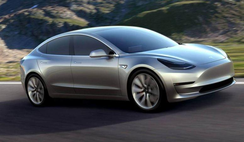 Espectacular aspecto del nuevo Tesla Model 3