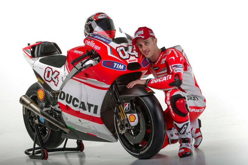 Andrea Dovizioso seguirá dos años más con Ducati