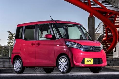 Nissan Dayz Roox, uno de los modelos afectados por el escándalo de Mitsubishi
