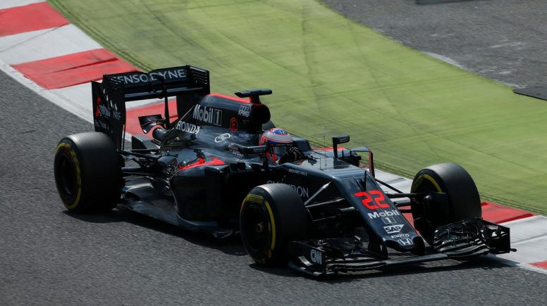 Buena jornada hoy para Jenson Button y McLaren