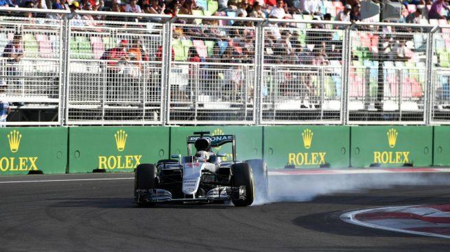 Lewis Hamilton vivió un auténtico calvario en Baku